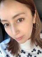 矢田亜希子、ノーファンデの普段メイクを公開「年齢とともにやりすぎ注意」