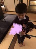 市川海老蔵、息子・勸玄くんが人生で初めて赤ちゃんを抱っこ「ここ数日でグッと成長」