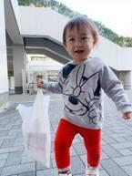 東尾理子、荷物が入っている袋を持ちたがる次女「手伝ったり、持とうとすると怒る」