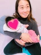 キンタロー。赤ちゃんを抱っこさせてもらい感動「ママの顔」「待ち遠しいですね」の声