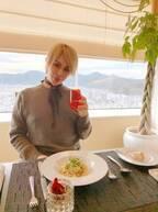 整形男子アレン、家族とホテル最上階で楽しんだ食事「一緒に落ち着いた時間を過ごすのが大好き」