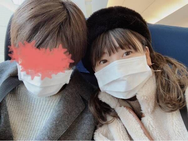 あいのり・桃、彼氏との初海外旅行に出発したことを報告「2時間半のフライトなので一瞬!!!!」