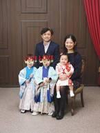 大渕愛子弁護士、七五三で撮影した家族写真を公開「めっちゃ素敵」「幸せそう」の声
