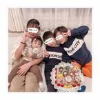 辻希美、次男の誕生日での集合写真に感慨「急に不思議な気持ちになりました」