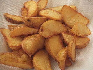 クリス松村、朝食に食べたフライドポテト「気がついたら・・・お鍋に油をそそいでいました。(笑)」