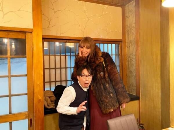 "IVAN、""大好きな大先輩""阿部サダヲとの2ショット公開「やるよね~」"