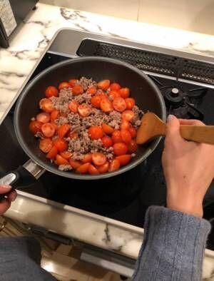 花田虎上、妻にリクエストした料理「トマト農家さんで教えて頂いた一品」