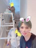アレク&川崎希、塗装しキレイになった家「半年に一回は塗り直してんだな」