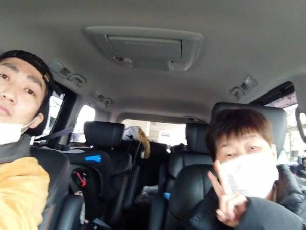 ノンスタ石田、新車を購入したと報告「最初に助手席に乗ったのはまさかの」