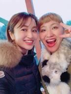矢田亜希子、大好きな丸山桂里奈から誕プレ「心優しい桂里奈ちゃん」