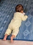 吉木りさ、うつぶせの練習をする娘「できることが少しずつ増えてくれて嬉しい」