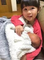 はんにゃ・川島の妻、真顔の娘の一言に「おもしろすぎる」「すっかりお姉さん」の声