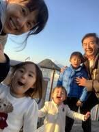 東尾理子、夫・石田純一らとの家族旅行に「楽しそう」「微笑ましい」の声