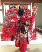 蛯原英里、娘に譲った実家の立派な雛飾りを公開「わたし&姉から」