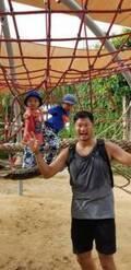 小原正子、家族でバリの動物園を満喫「楽しそー!」「幸せそう」の声