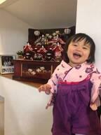大渕愛子弁護士、ひな祭りに1歳娘の袴姿を披露「嬉しいような…切ないような…」