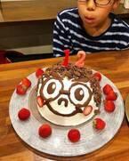 みきママ、次男の大好物を使った誕生日ケーキ「有意義な12年だったそうです」