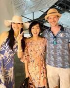 早見優、アンミカ夫妻とハワイでバッタリ遭遇「お二人はいつ会ってもラブラブ」