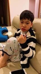 野田聖子氏、転倒し右腕を骨折した息子「ハッピーな年初…のはず、が」