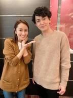 矢田亜希子、藤木直人の主演舞台観劇で2ショット「たくさん笑わせていただきました!」