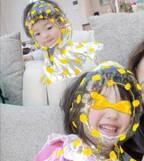 蛯原英里、カメラアプリで加工した子ども達との写真を公開「笑いがとまらない!」