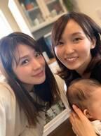 """吉木りさ、""""ご近所さん""""相沢まきと2ショット「とにかくスーパーママです!」"""