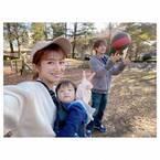 辻希美、友人ファミリーと楽しんだBBQ「めっちゃ食べてめっちゃ動いて」