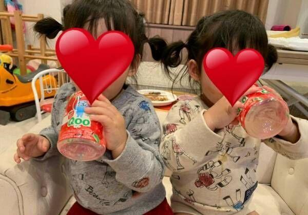 ノンスタ石田、日々可愛さが増す双子の姿に「あらゆる角度から写真撮っちゃいます」