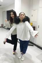 ニッチェ・江上、平野ノラからもらった服を紹介「可愛い」「似合ってます」の声