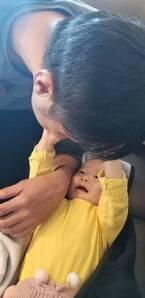 """小原正子、健診で""""軽度運動発達遅延""""と言われた娘「そんなに心配するレベルではないですが」"""