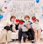 杉浦太陽、妻・辻希美ら家族から誕生日を祝福される「ついにやってきた30代ラスト」