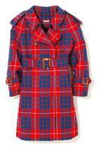 柄コートで遊び心をプラス! 寒い季節だって軽やかに♪