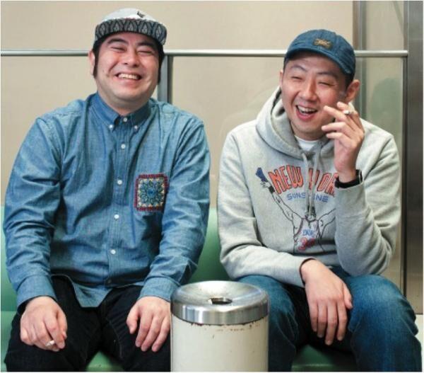 みながわ・さるとき1971年生まれ、福島県出身。'94年より大人計画に参加。グループ魂の港カヲルとしても活躍。出演映画『TOO YOUNG TO DIE!』が6月25日公開。あらかわ・よしよし1974年生まれ、佐賀県出身。'98年より大人計画に参加。現在、連続ドラマ『重版出来!』(TBS系)に出演中。出演映画『TOO YOUNG TO DIE!』は6月25日公開。