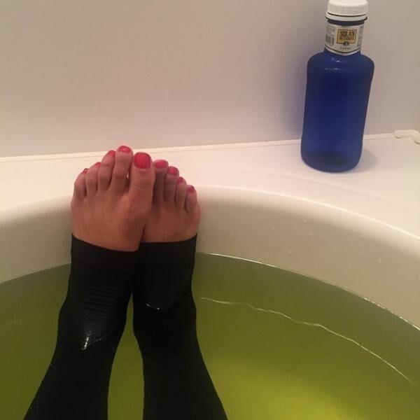 お風呂でレギンス、やってる人が急増中。
