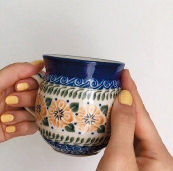 このお気に入りのカップでコーヒーを飲むのが、ちょっとした至福の時。