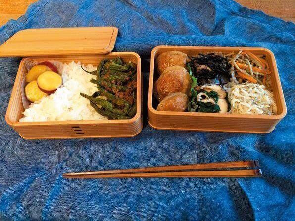伊藤さんからのお弁当。「スープもいただいたことがあって。茹で鶏のおまけって感じで会社の台所で温めてくれました」(糸井さん)
