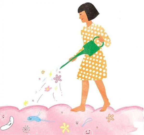 """腸内フローラと呼ばれる""""花畑""""をどう育てるかは、持ち主であるあなた自身の日々の暮らしにかかっている。"""