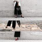 【秋を先取り!】ユニクロのベロアワイドパンツを着まわし!|デイリーブランド着回し3Days #37