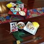 100均で簡単かわいーっ! イケメン先生のお正月テーブルコーデ #4