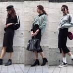 大人の黒タイトスカート…冬も春も活躍! オンオフ着こなし3コーデ|デイリーアイテム着回し3Days #57