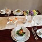 おうちで記念日…男がドキドキする「簡単でゴージャス」テーブルコーデ #10