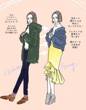 オトナの白ニット…デートにも! 今から春までイケる着まわしコーデ | スタイリストのファッション恋愛術 ♯59