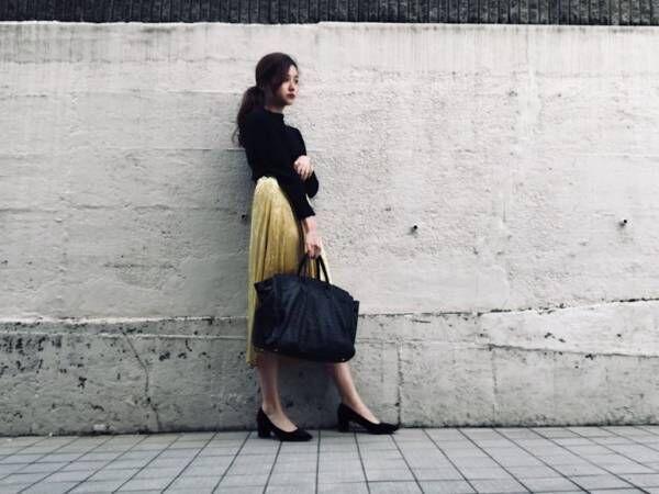 GUの大人スカート…高見え旬アイテム! 春の着こなし3選|デイリーブランド着回し3Days #61