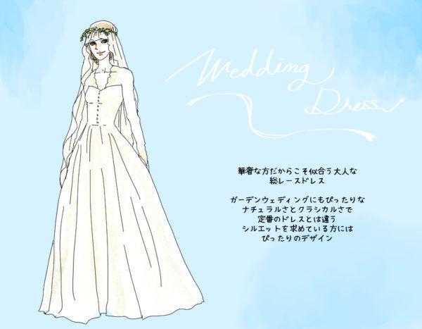 00cead0d56561 美しい…アラサーだから似合う「ウェディングドレスの選び方 ...