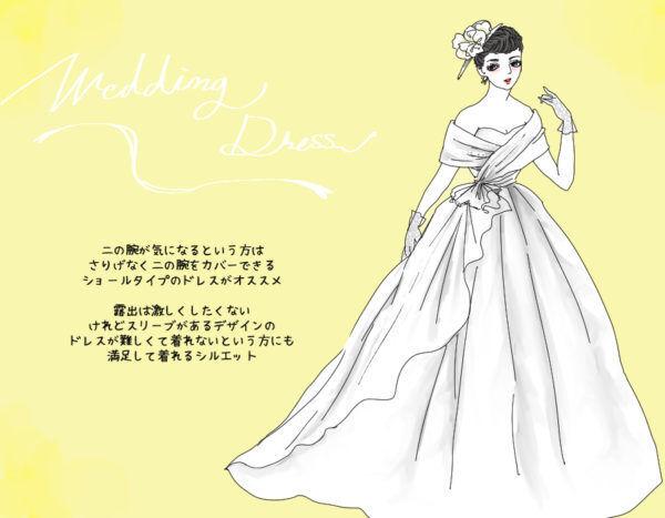 美しい…アラサーだから似合う「ウェディングドレスの選び方」   スタイリストのファッション恋愛術 ♯70