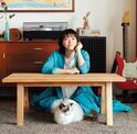 上野樹里の愛猫・フランは「ちょっとお嬢様気質」?