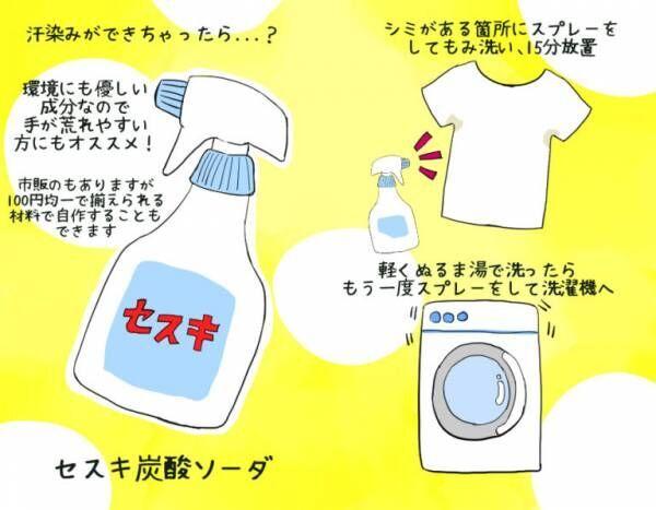白服の汗染み・黄ばみ対策! 面倒くさくない「簡単お手入れ」方法