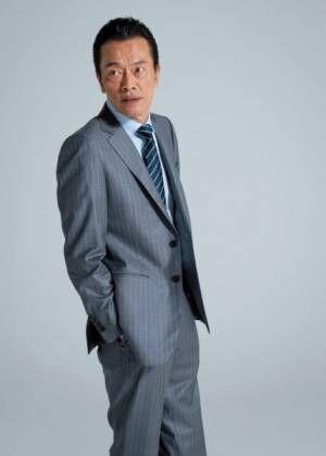 遠藤憲一がキスシーン! 「58歳でまさか」と本人も驚き