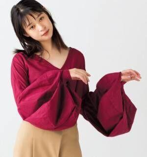 """""""袖に技あり""""が楽しい! 今季の注目トップス5選"""