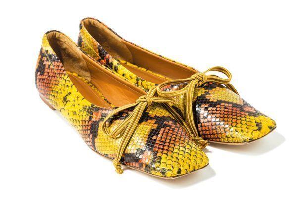 【秋冬ファッション】黄色のパイソン靴! 気になる個性派アイテム5選